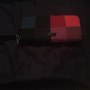 Multi Colored RFID Wristlet